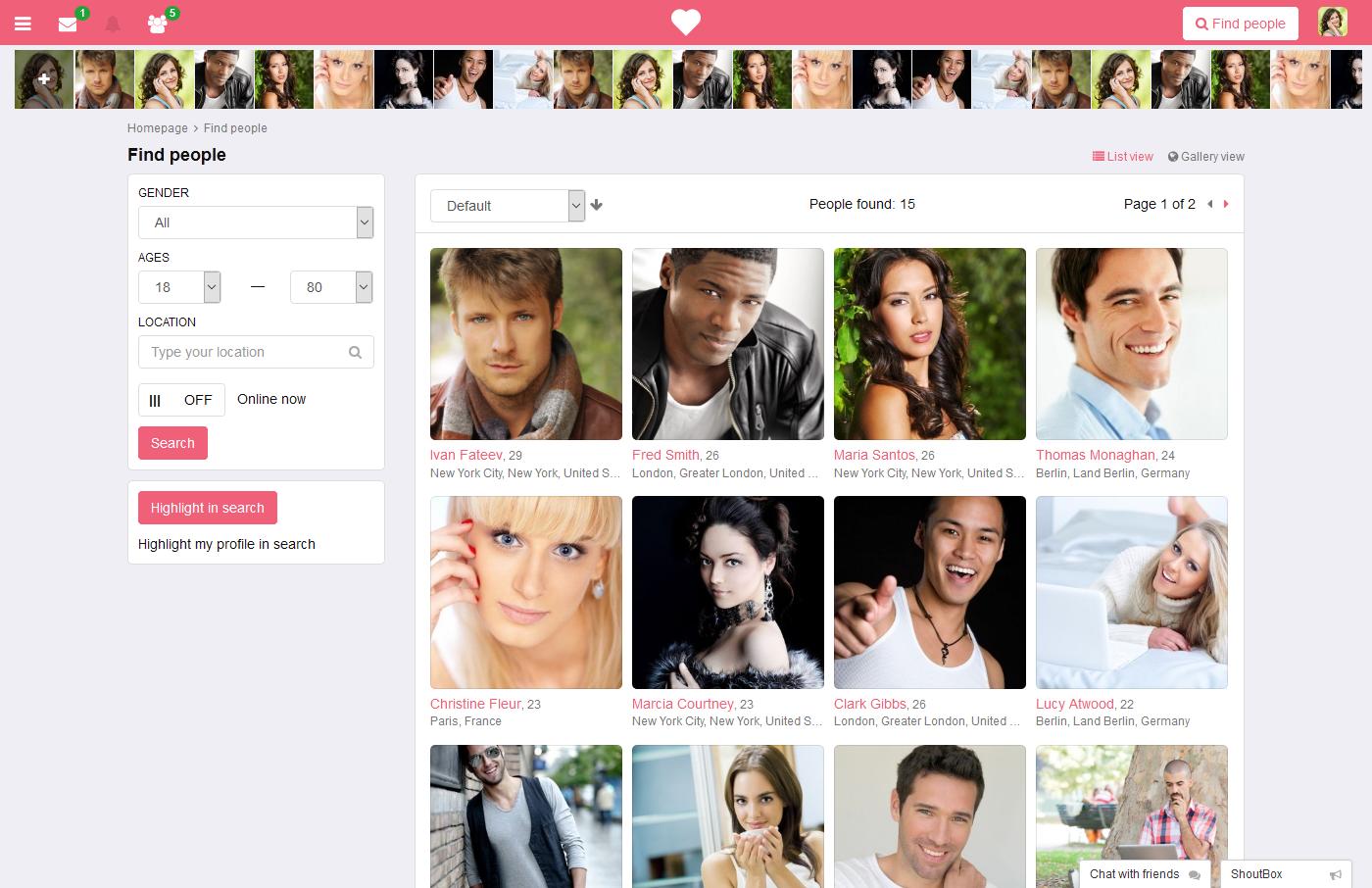 kas flirchi dating website pažintys melas gerbėjai